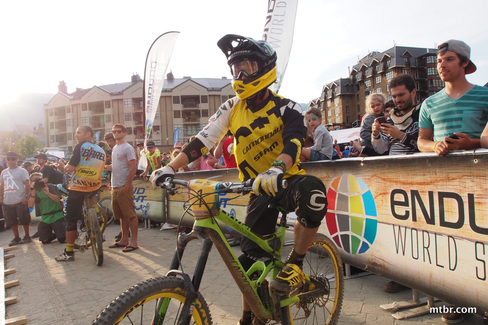 Clementz Loses by Seconds in Enduro World Series Whistler