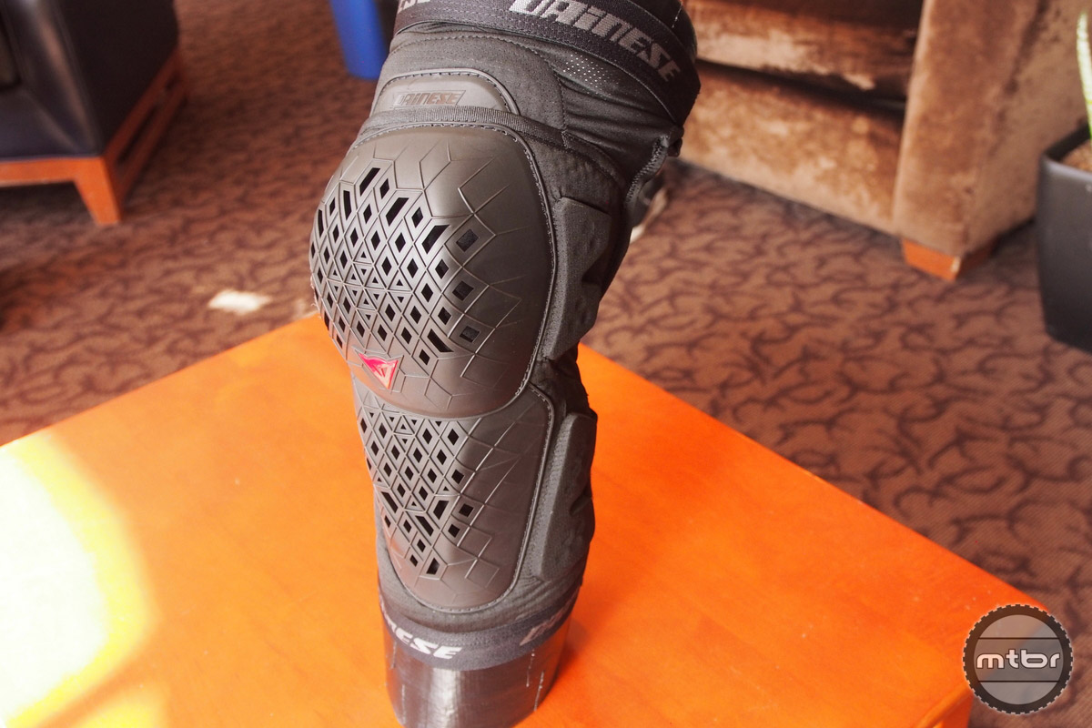 The Armoform knee pad protects and articulates very well.