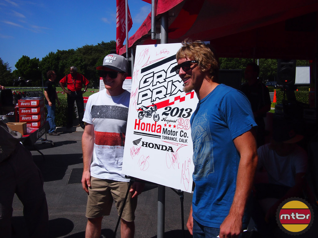 Pro Supercross/Motocross Stars Trey Canard and Justin Barcia