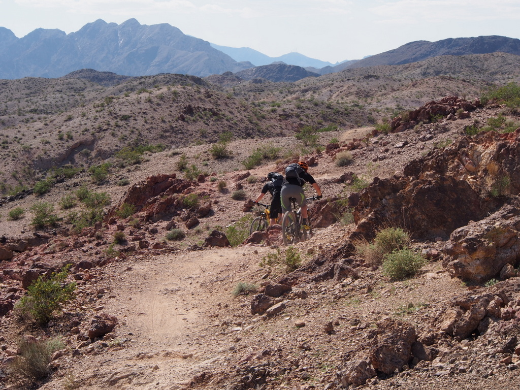 Boulder City demo trail
