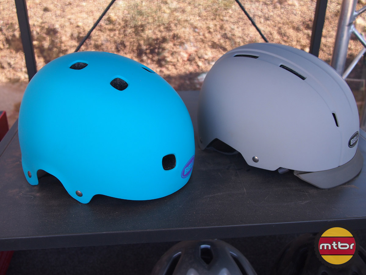 Bell Segment and Intersect helmets