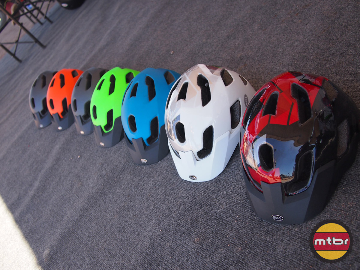 Bell Stoker helmet - colors