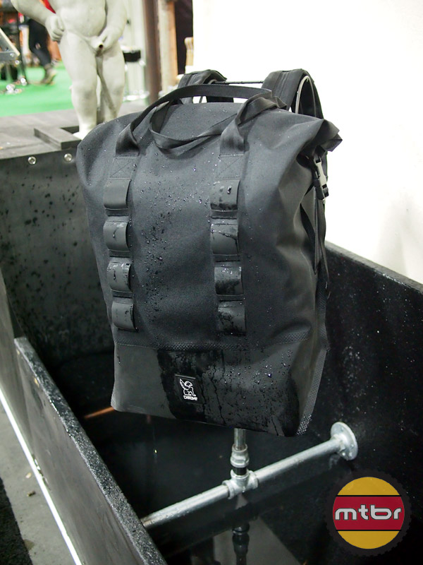 Chrome - Knurled Welding makes waterproof bags