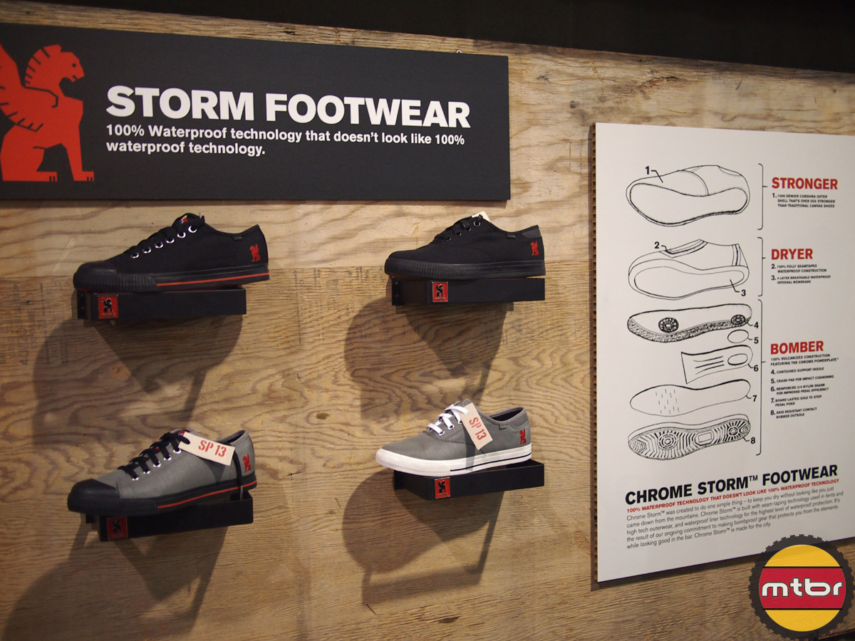 Chrome Storm Footwear