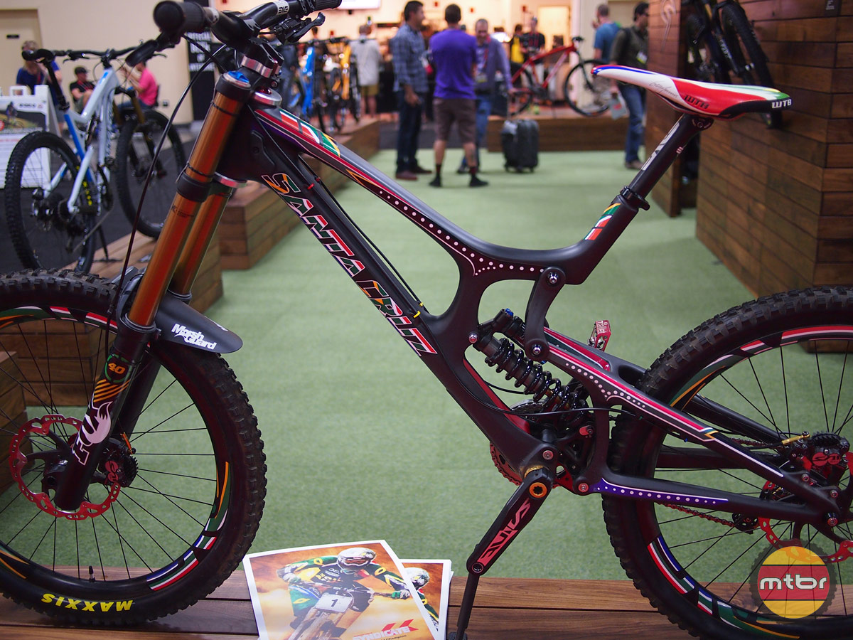 Greg Minnaar's Santa Cruz V-10