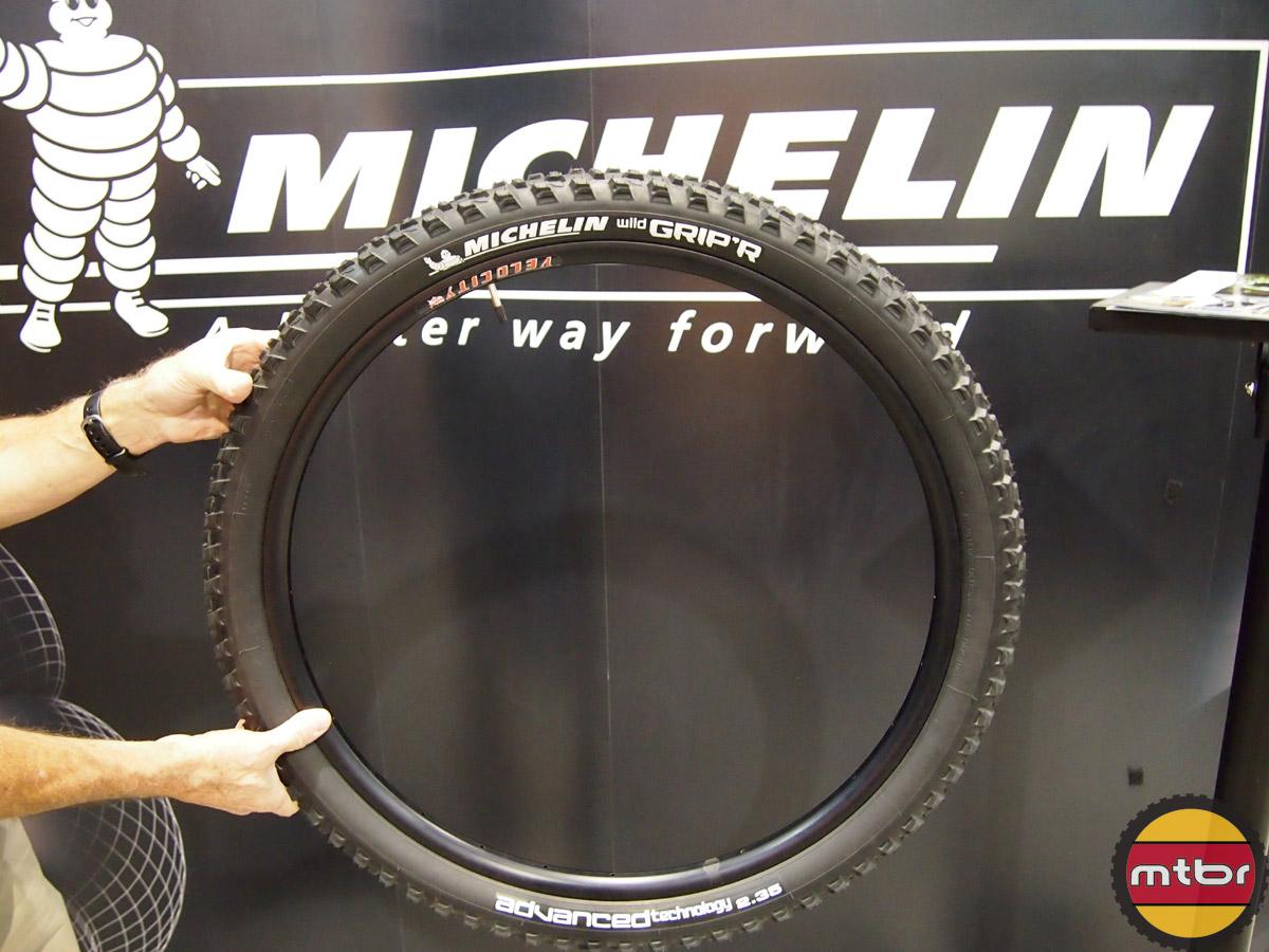 Michelin Wild Grip'R 650B Prototype