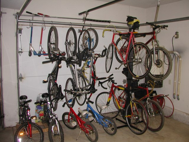 Way To Hang Bikes In Garage Life Style By