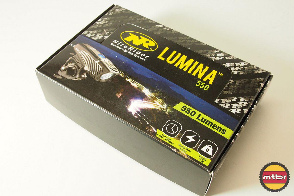 NiteRider Lumina 550 Box