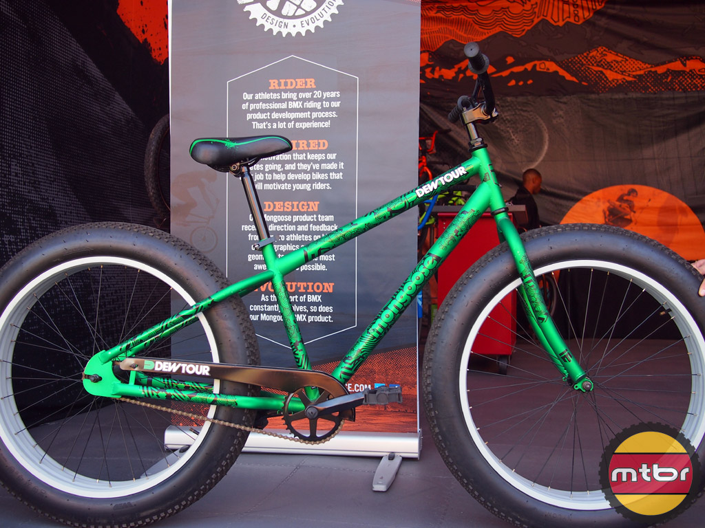 Mongoose Teocali Salvo 29 And Beast Fat Bike At The Dew