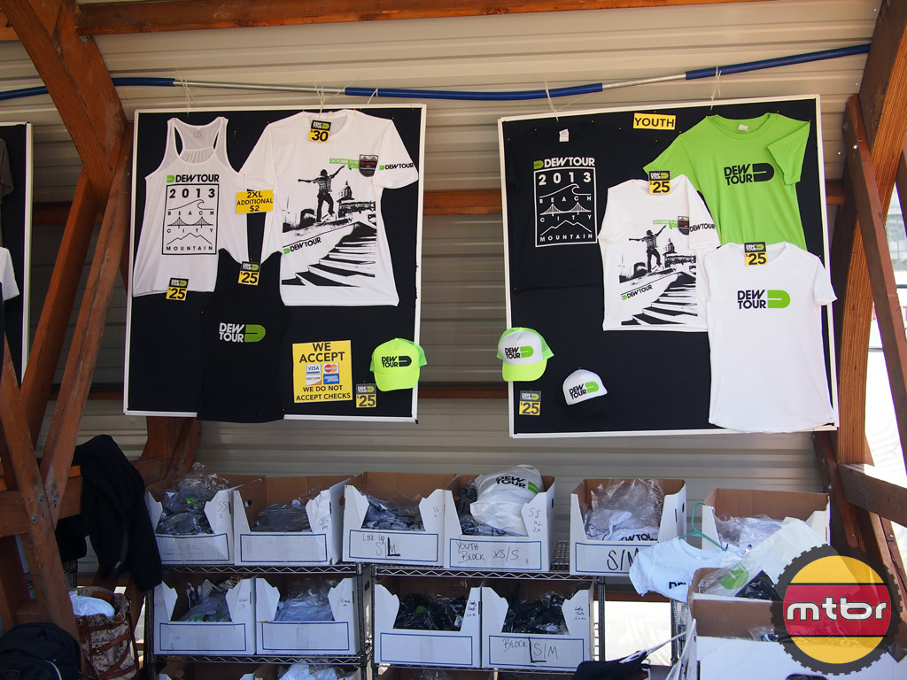 Official Dew Tour merchandise