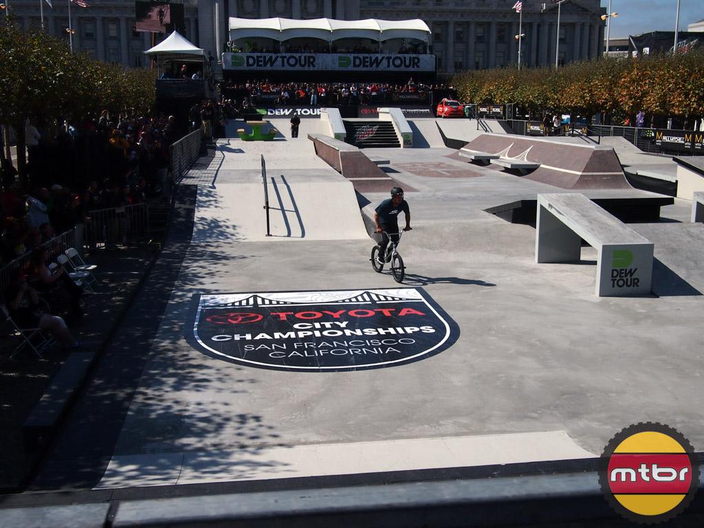 BMX street course