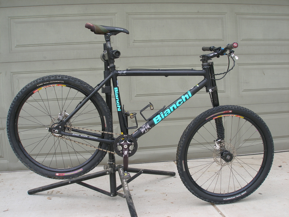 Putting a 100mm fork on a Bianchi SASS.-pa170885.jpg