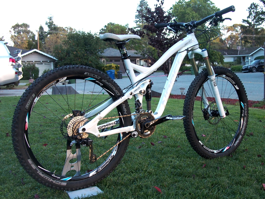 Norco Sight Killer B with Schwalbe Hans Dampf 650b