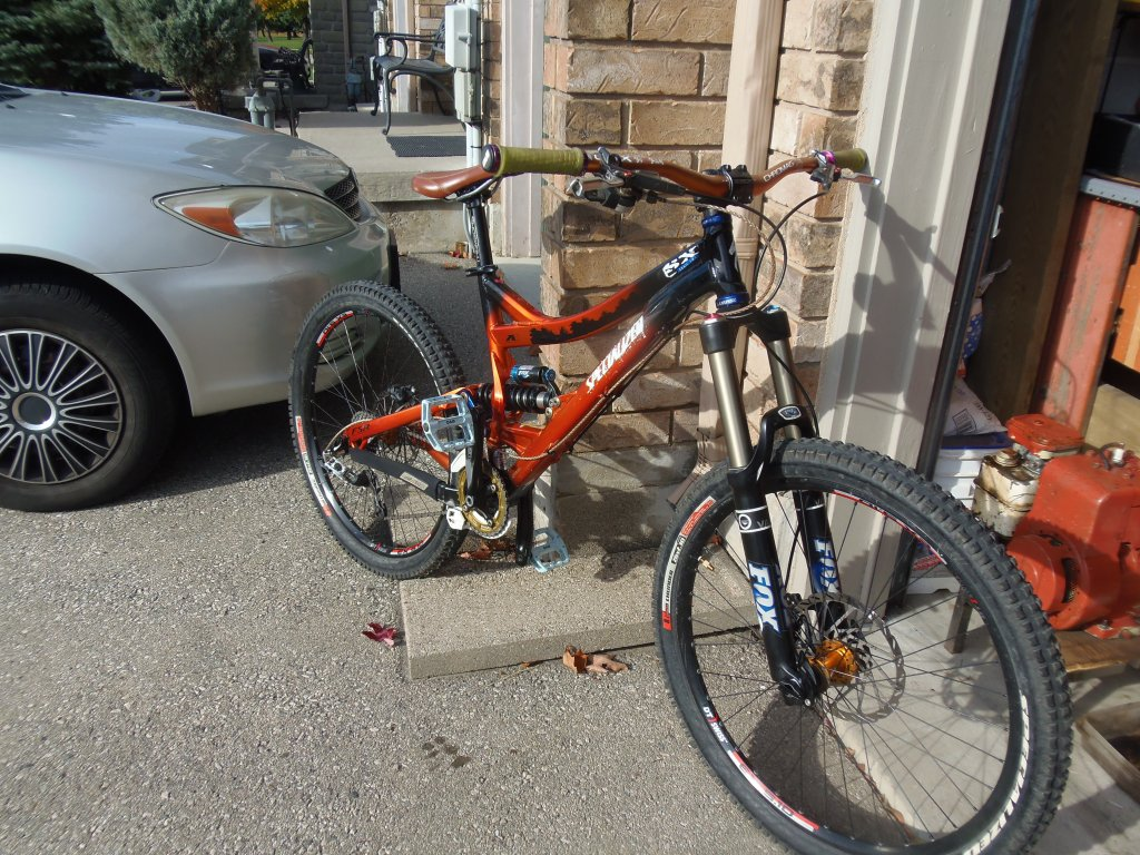 """7"""" travel DH bike-pa270496.jpg"""