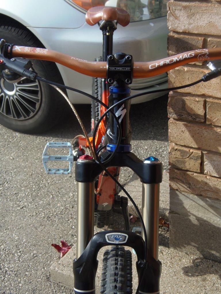 """7"""" travel DH bike-pa270497.jpg"""