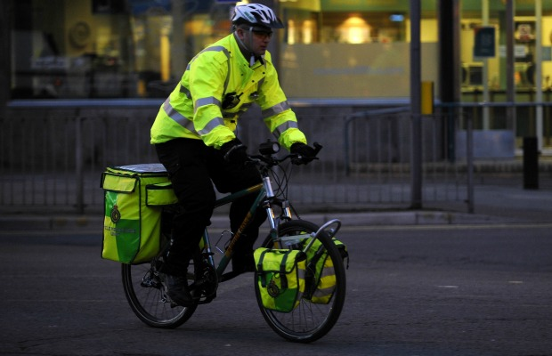 If you call an ambulance in Wales, you might get a bike-paramedic-972325431.jpg