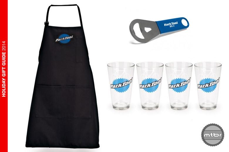 Park Tool - apron, bottle opener, pint glasses