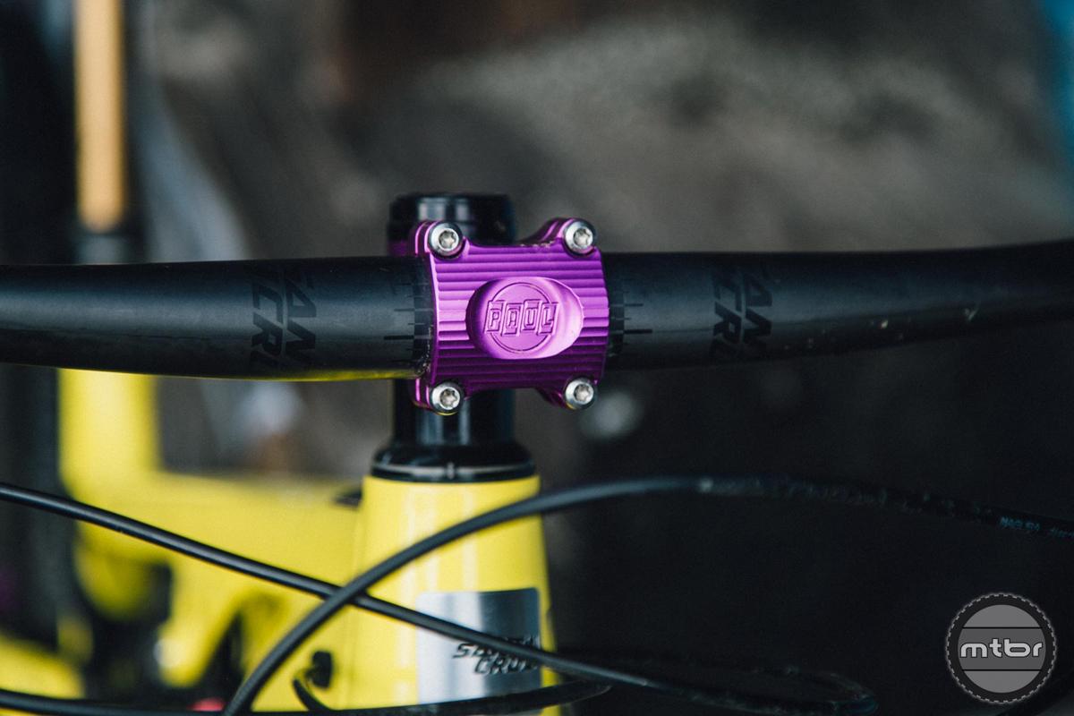 Paul Components Boxcar Stem Purple 50mm MTB Stem