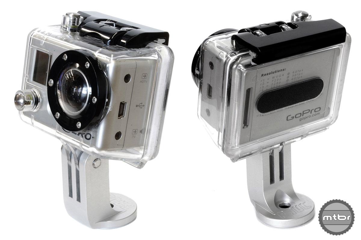 paul component s stem cap camera mount puts gopro front and center. Black Bedroom Furniture Sets. Home Design Ideas