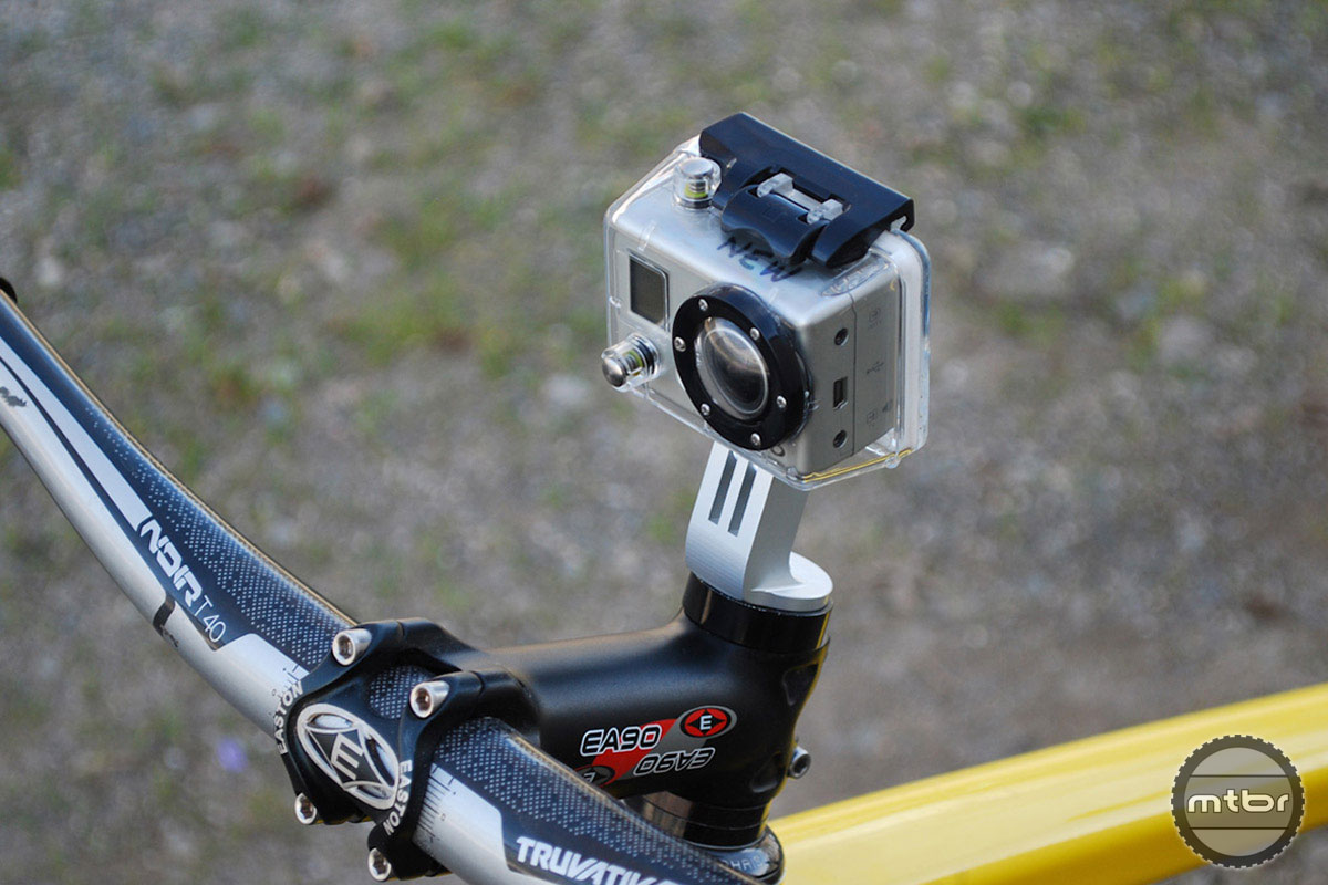 Paul Component S Stem Cap Camera Mount Puts Gopro Front And Center