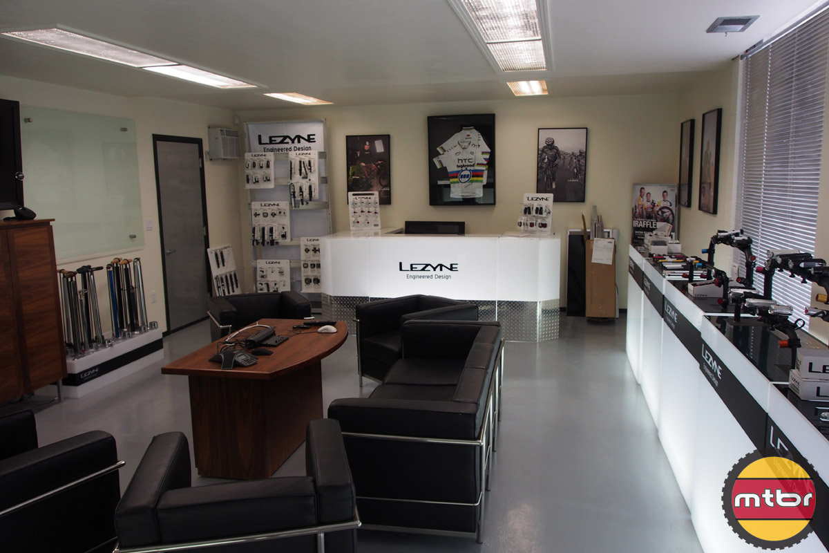 Lezyne Conference Room and Displays