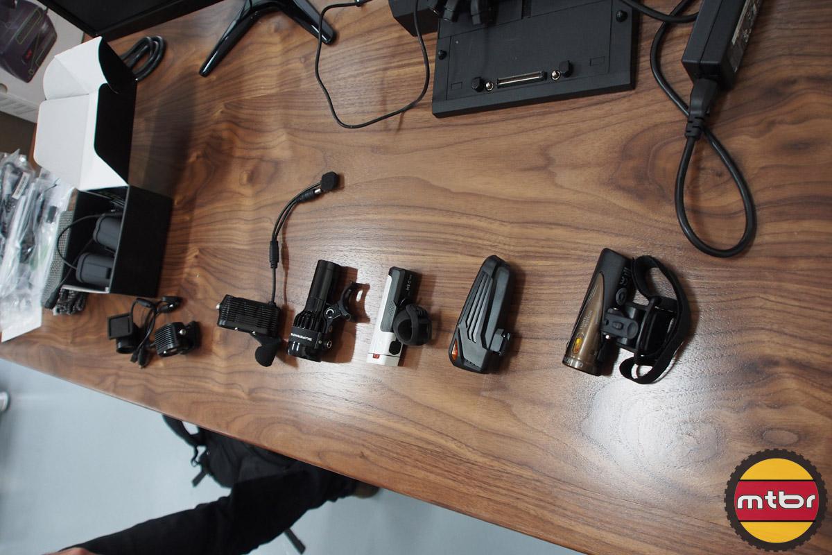 Lights for testing