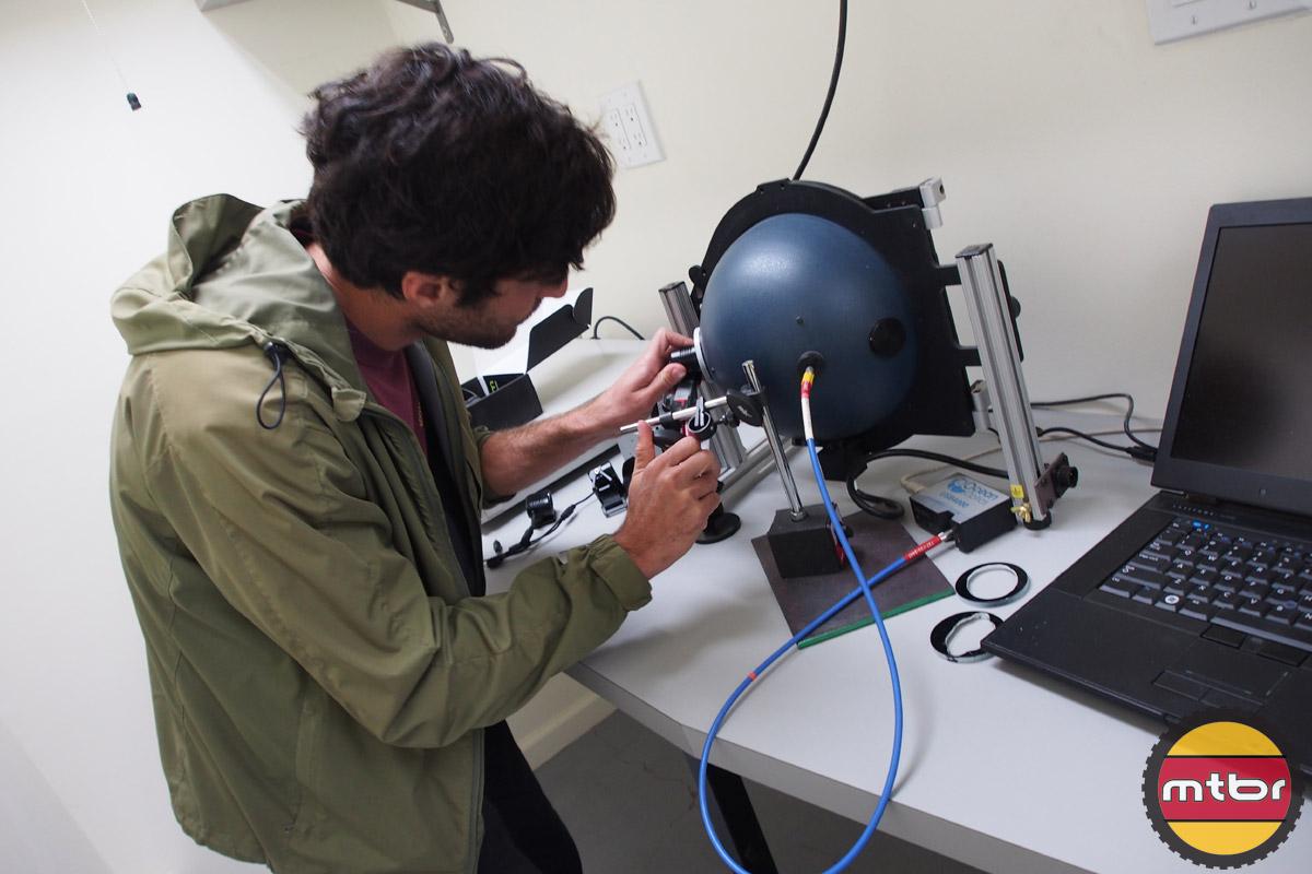 Lumisphere light testing
