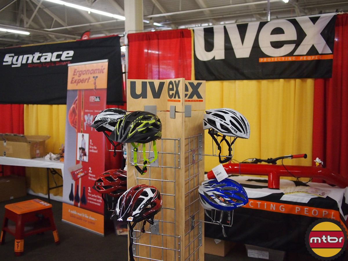 Uvex booth