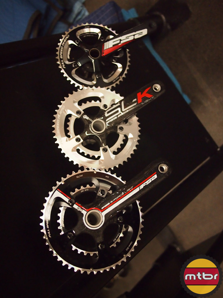 FSA cranks and rings