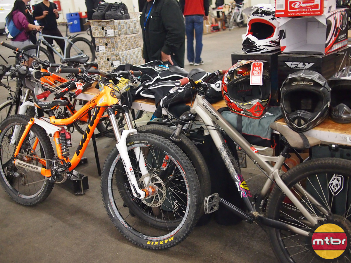 Swap hall mountain bikes