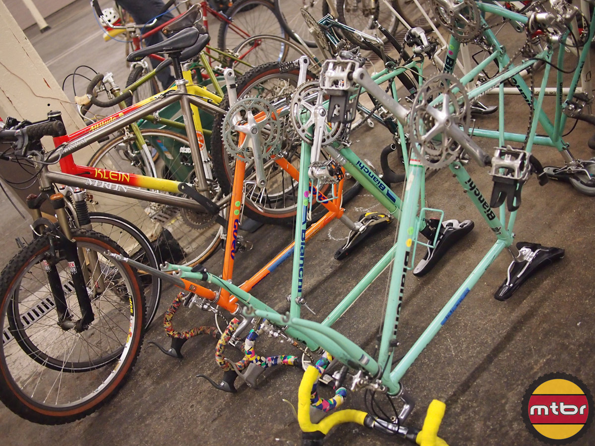 Swap Hall vintage road bikes