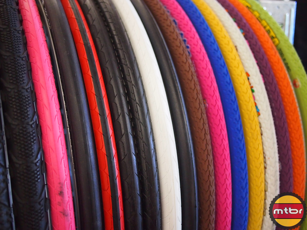 Duro tire rainbow
