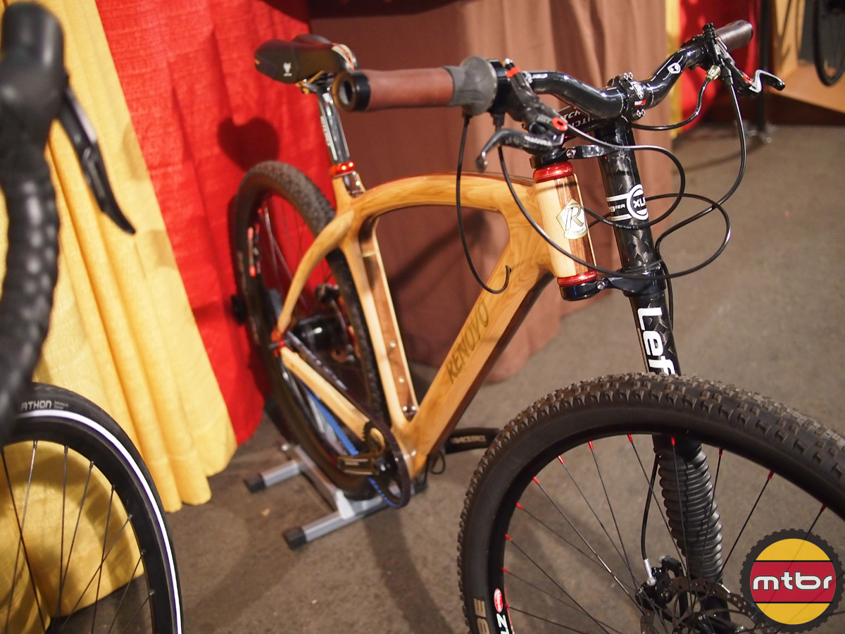 Renovo hard wood hardtail with Lefty