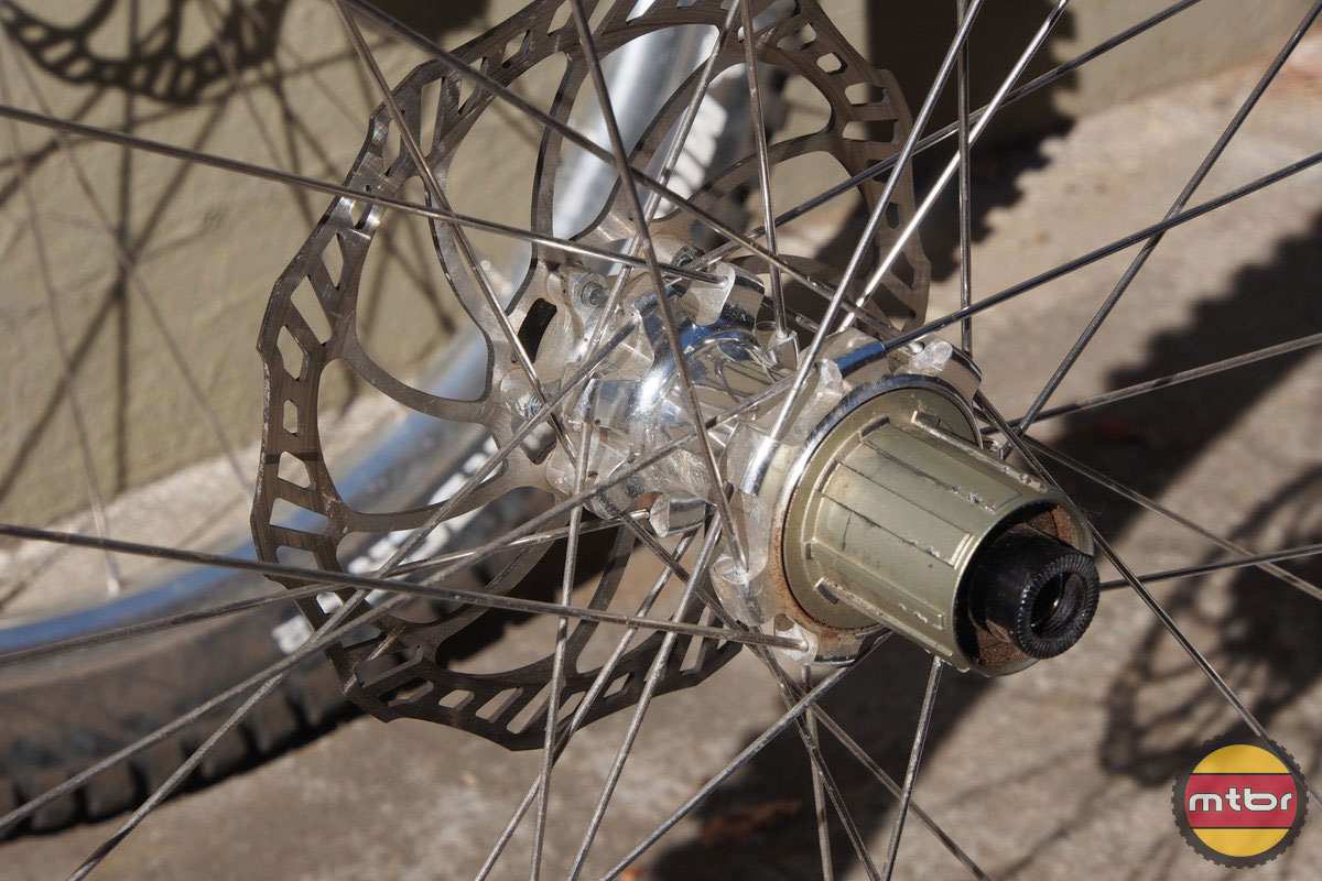 Spank Oozy EVO Wheelset