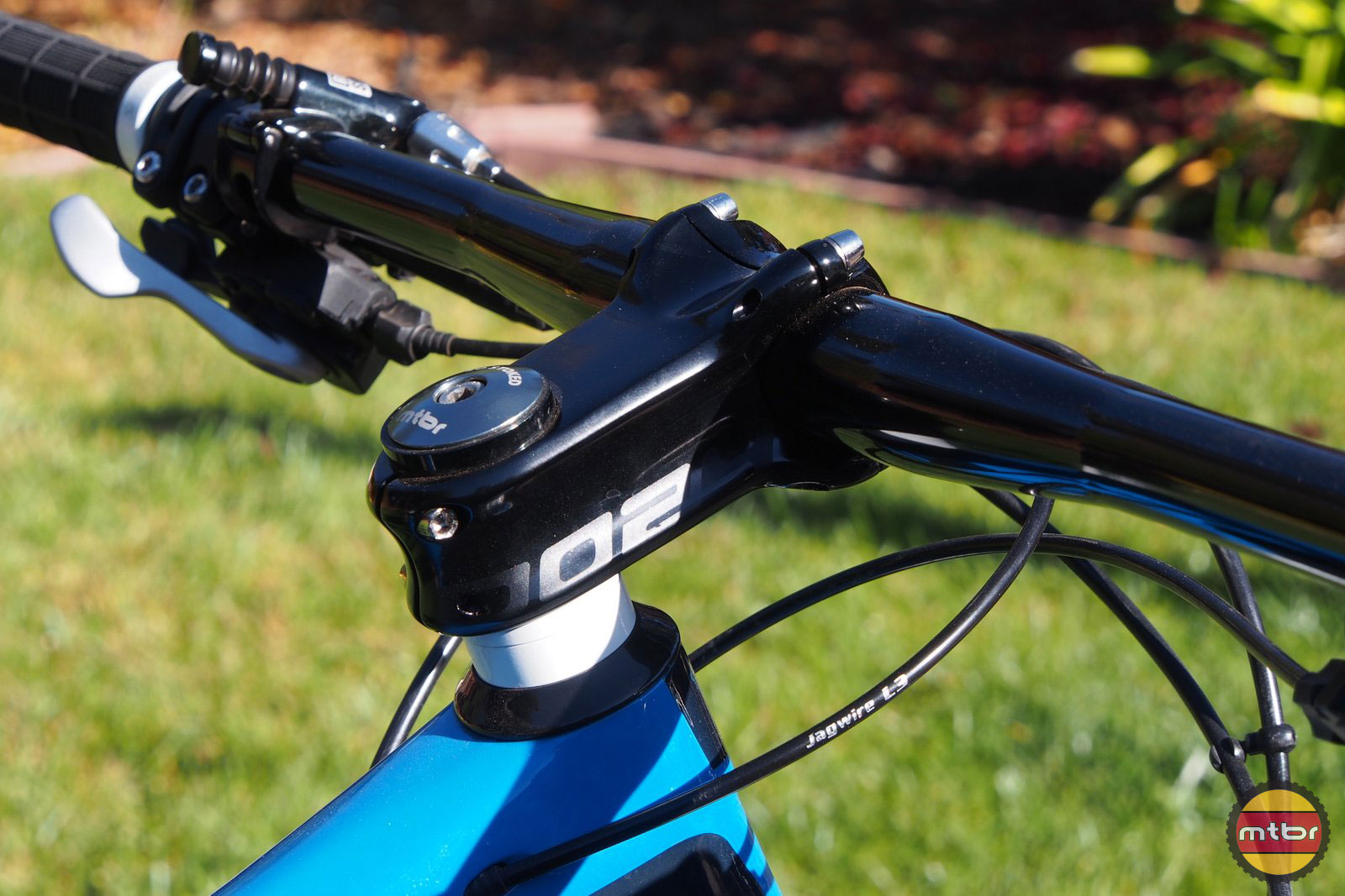 Spank Oozy Bar and Stem Combo