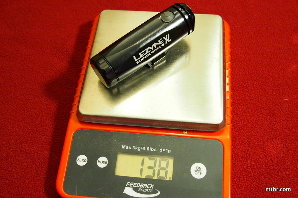 Lezyne Super Drive XL Head Weight