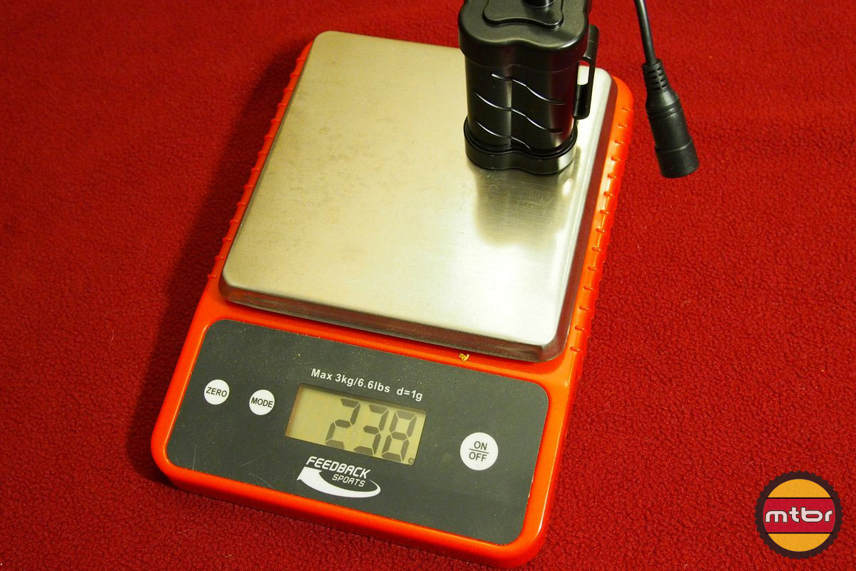 Gemini Duo 1500 Battery Weight
