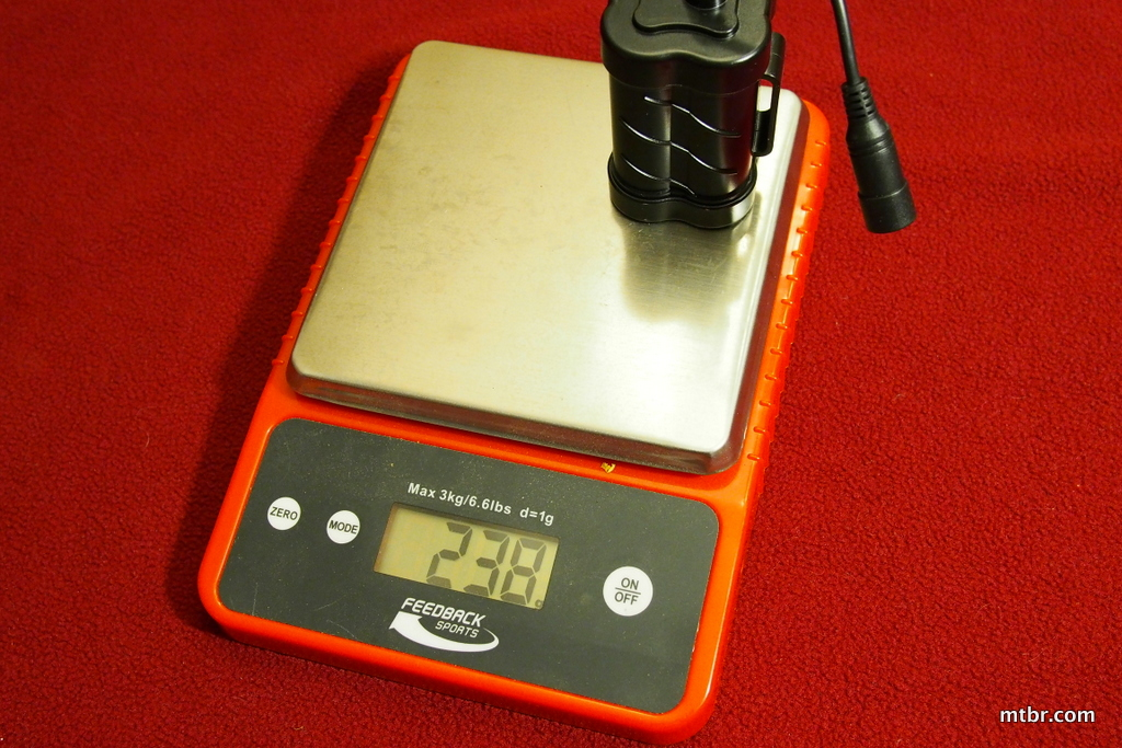 Gemini Duo Battery Weight