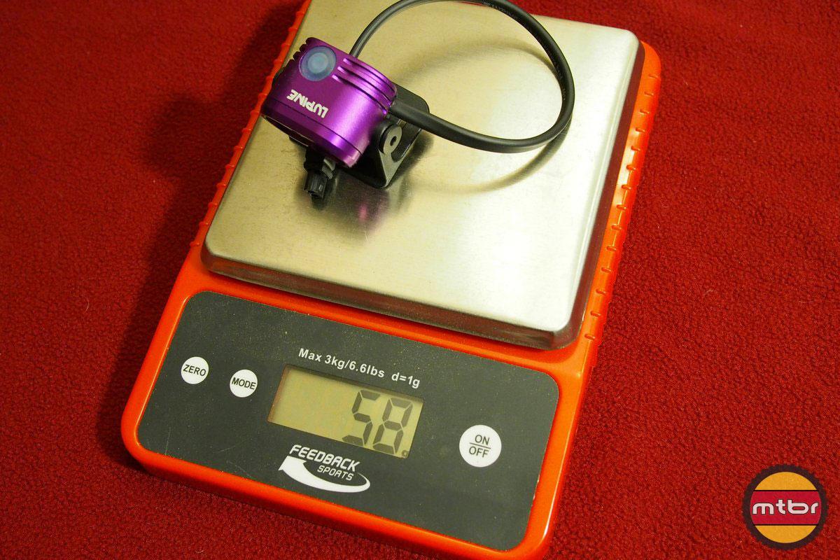 Lupine Piko 4 Weight