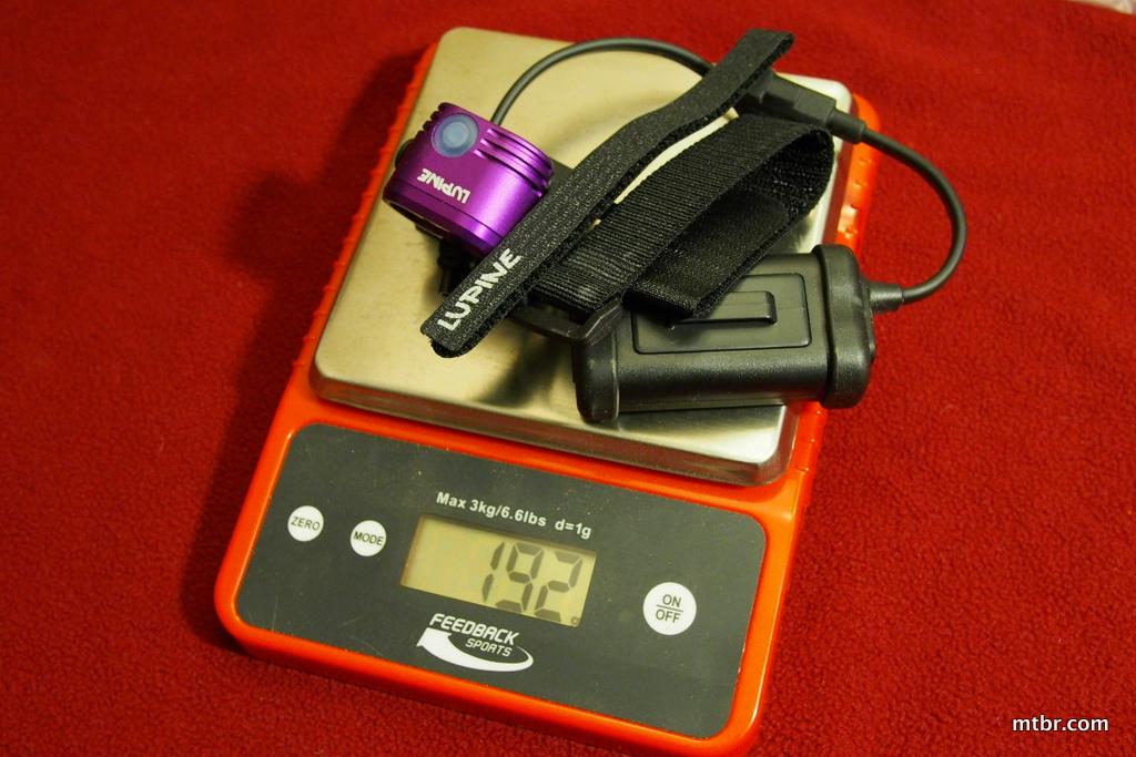 Lupine Piko 3 Mounted Weight