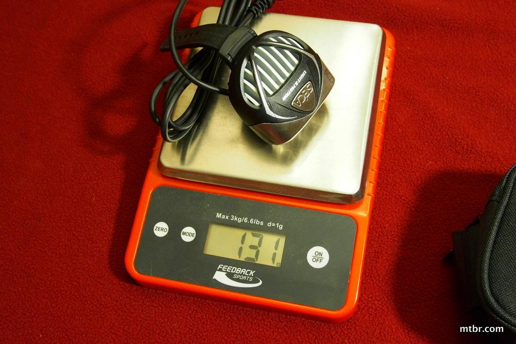 Light & Motion Seca 1700 Head Weight
