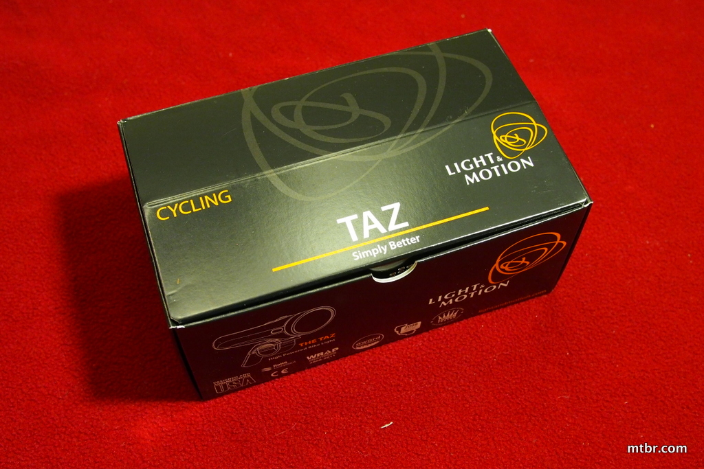 Light & Motion Taz 1200 Box