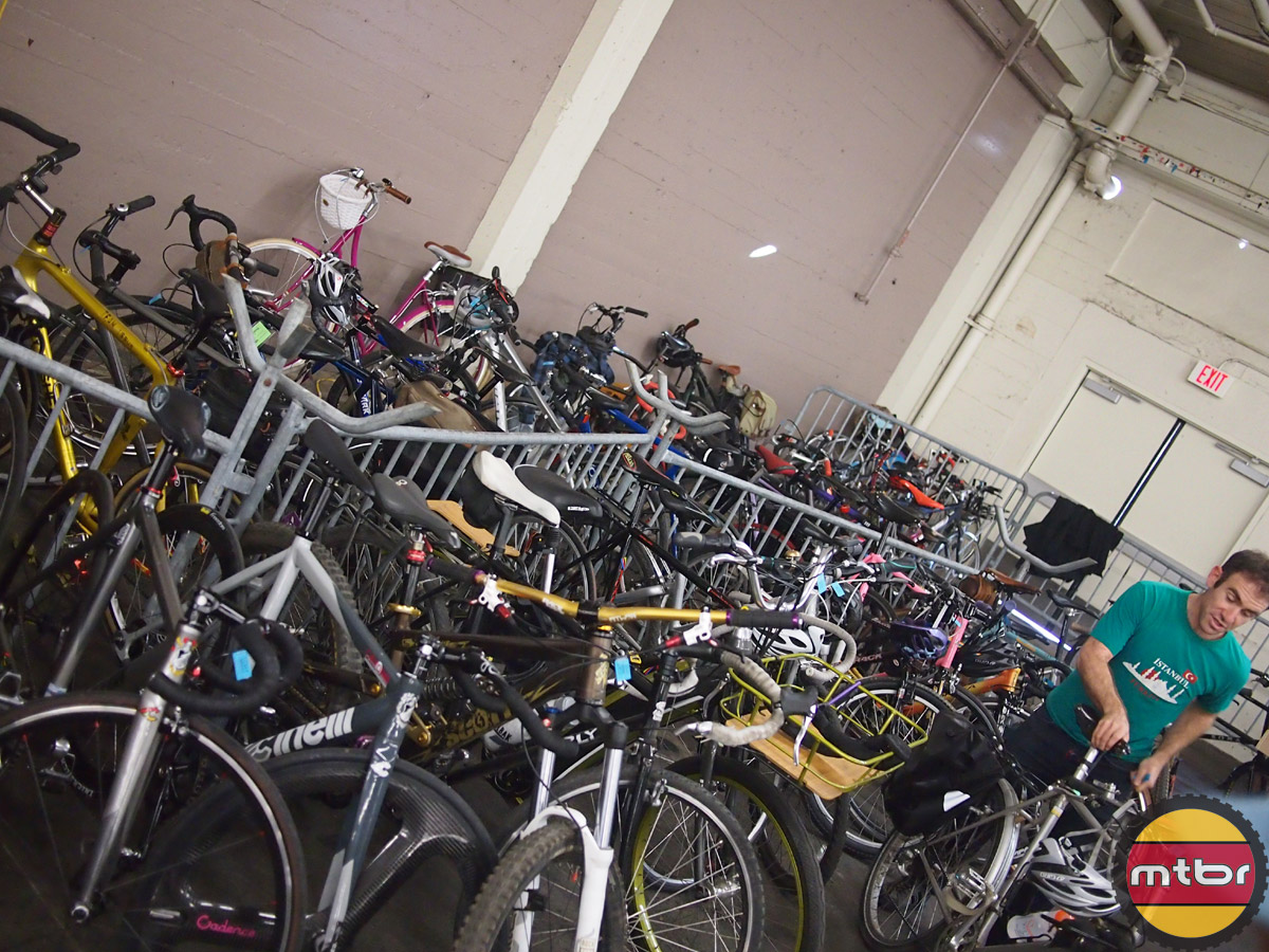 SF Bike Expo - free valet parking