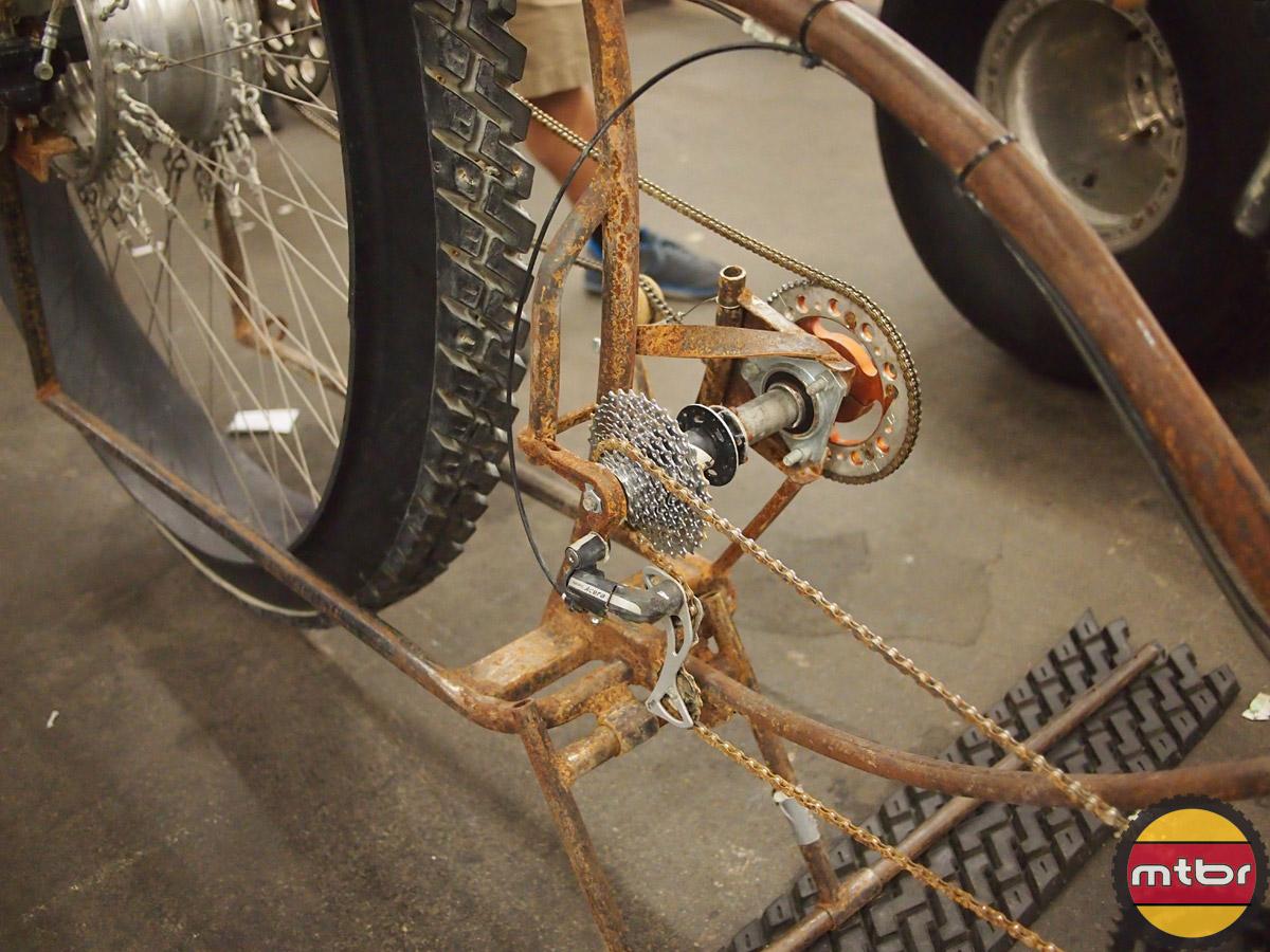 Stranger Bikes - drivetrain