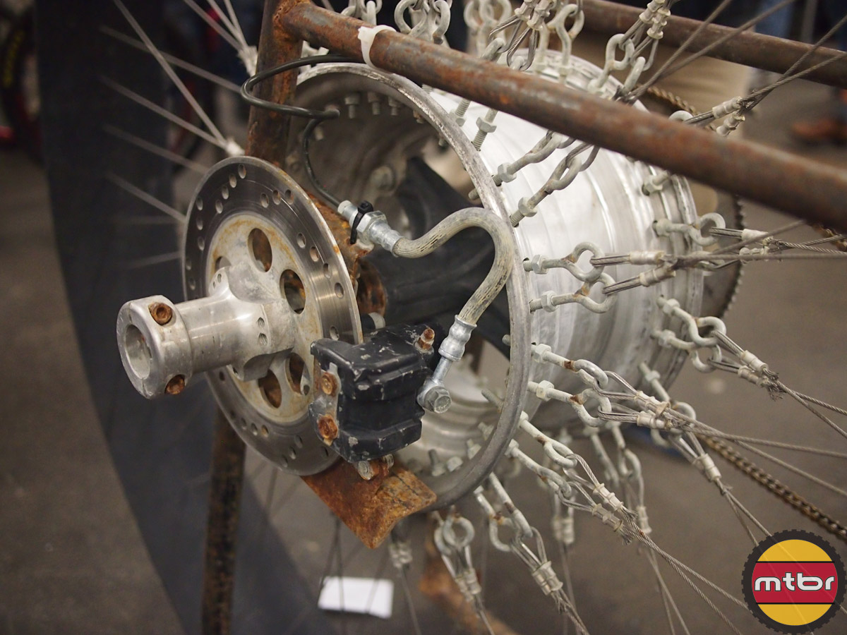 Stranger Bikes - Motorcycle caliper and rotor