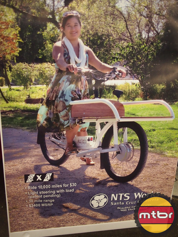 NTS Works from Santa Cruz - Electric Cargo bike