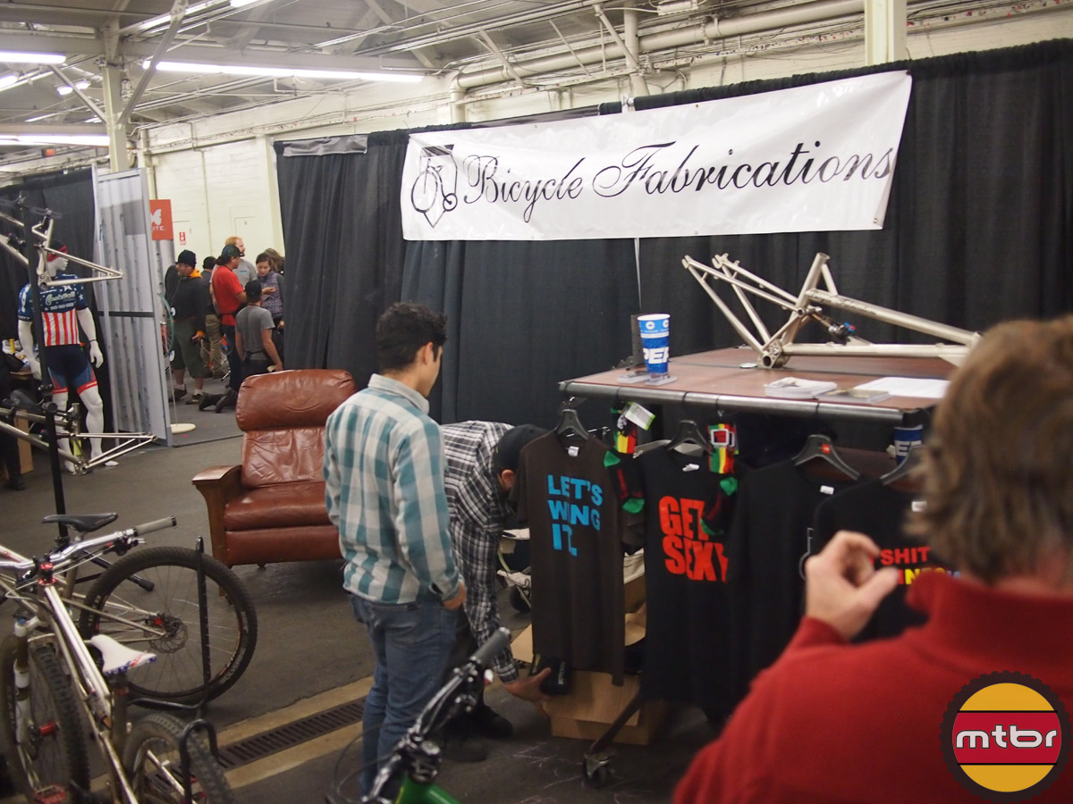 Bicycle Fabrications booth