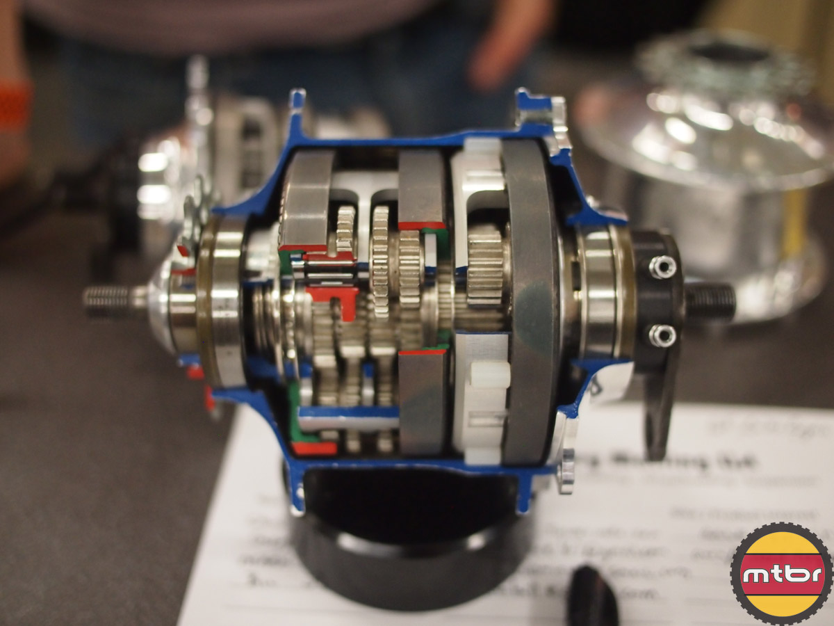 Internal view of the SpeedHub