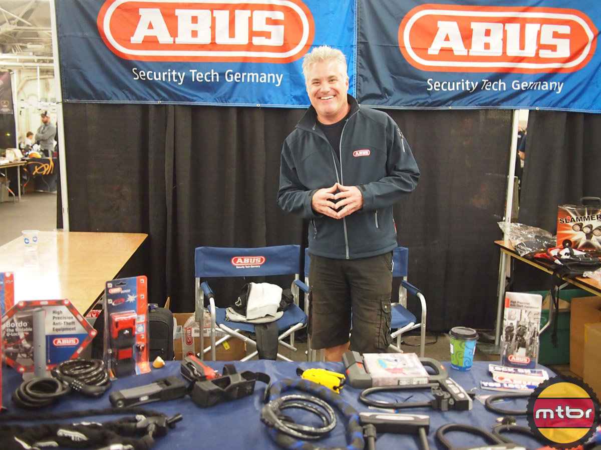 Collin from ABUS always with a smile!