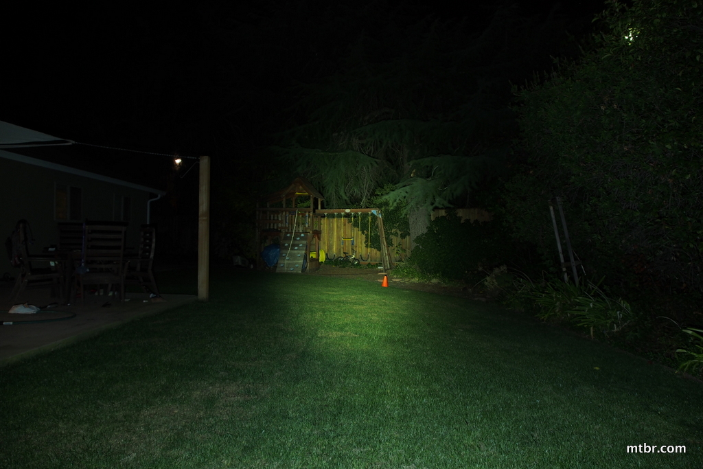 Lezyne Super Drive XL Backyard Beam Pattern